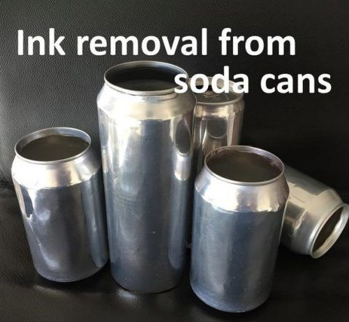 Remove Ink from Soda Pop Cans to Make Shiny Aluminum Base Homesteading  - The Homestead Survival .Com