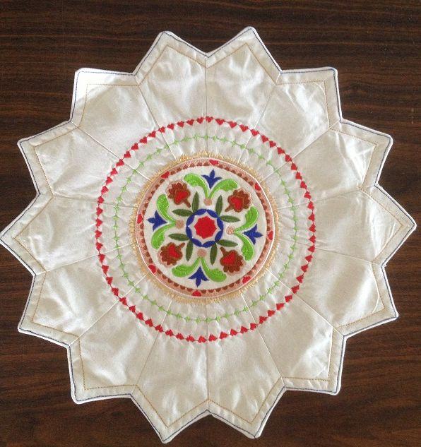 Jacobean doily For Sale $10 catchacreation.com.au Green Gable Quilts