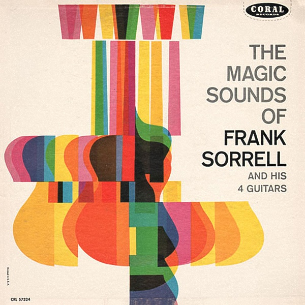 Nice vintage album coverChocolates Trifles, Album Covers, Frank Sorrel, Colors Pattern, Graphics Design, Covers Design, Records Covers, Magic Sounds, Posters