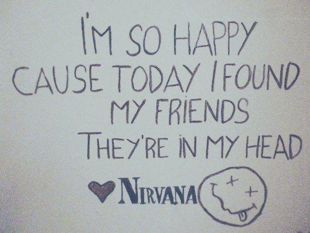 Best 25 nirvana quotes ideas on pinterest nirvana - Nirvana dive lyrics ...