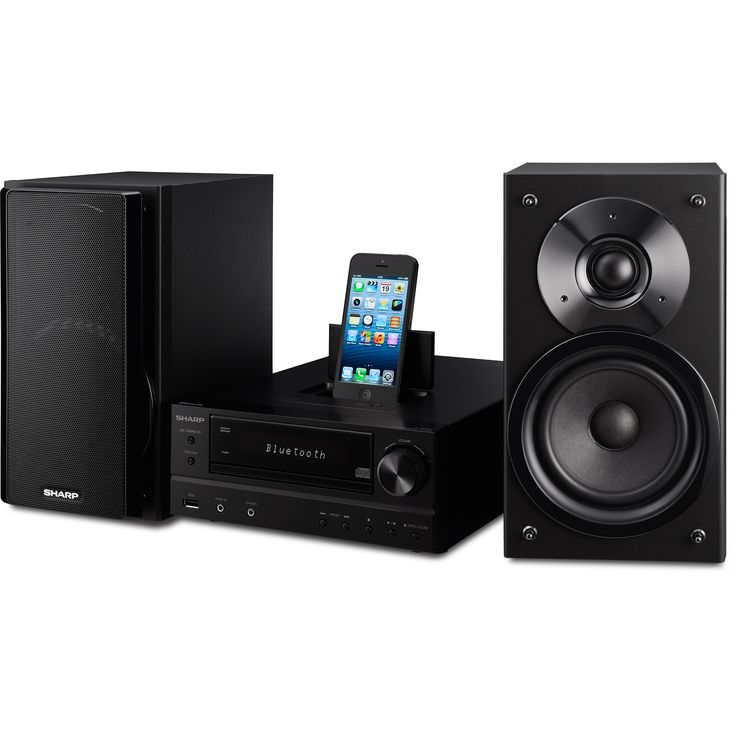 Sharp XLHF202PHBK Audio Microsystem Tech Specs