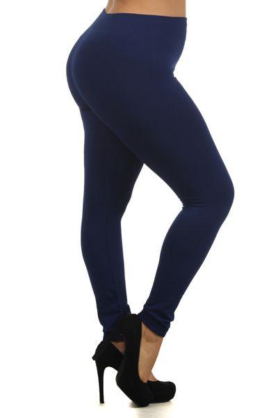 Online Clothing Boutique | Kelly Brett Boutique - Plus Size Celine Fleece Leggings Navy, $12.00 (http://www.kellybrettboutique.com/plus-size-celine-fleece-leggings-navy/)