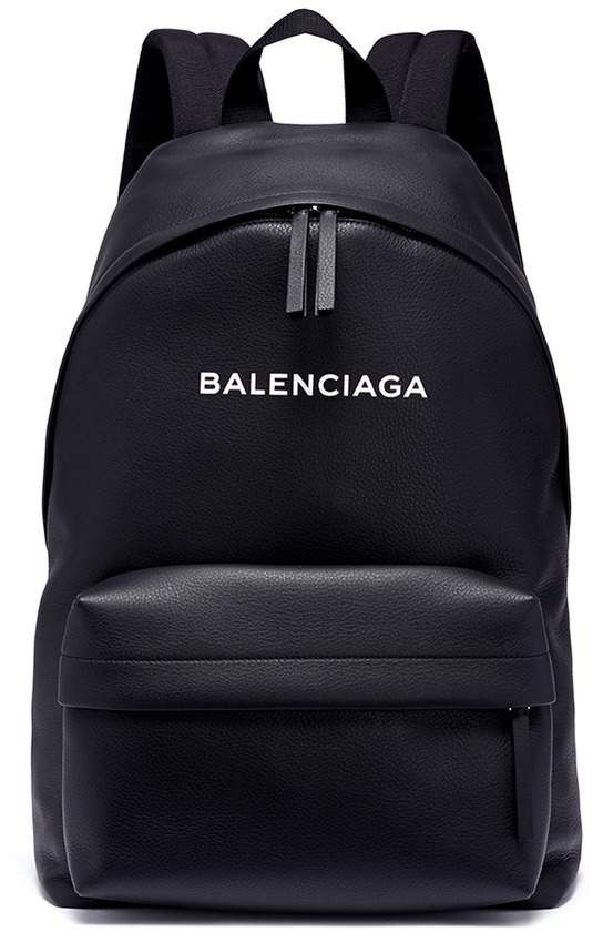 8099c6a38 Balenciaga 'Everyday' logo embossed leather backpack | The Edge of ...