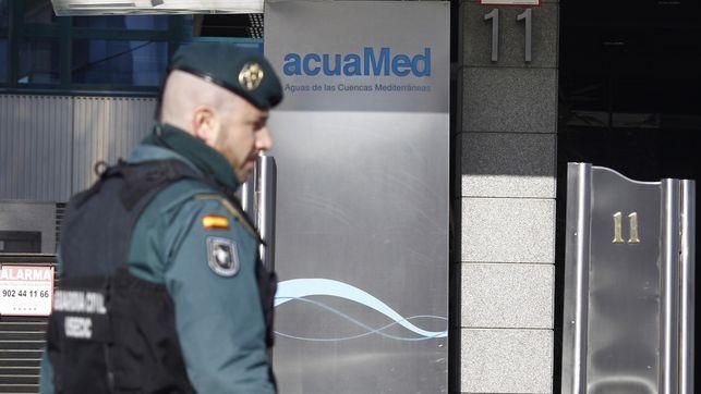 Directivos de Acciona y FCC entre los detenidos por el fraude de Acuamed