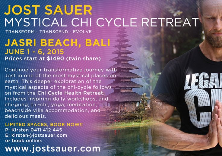 Chi Cycle - Jost Sauer in Bali 2015