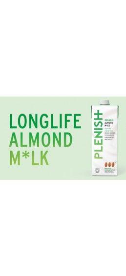 Longlife Almond Milk | Dairy Free Nutmilk | Plenish Cleanse