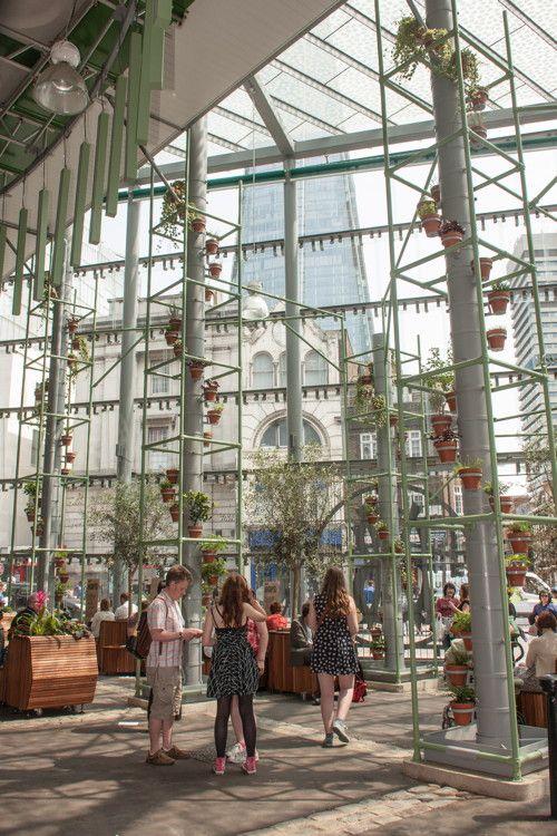 Borough Market's new indoor garden is now open