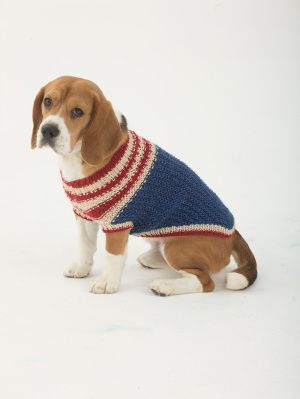 Image of The Patriot Dog Sweater