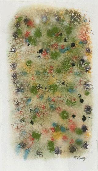 MARK TOBEY http://www.widewalls.ch/artist/mark-tobey/ #MarkTobey #abstractexpressionism #painting