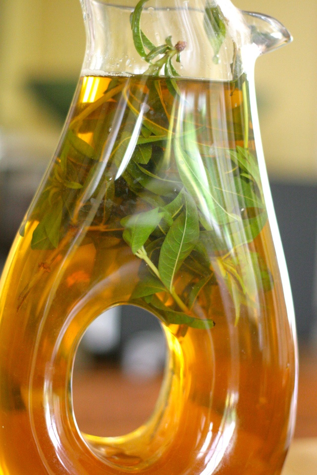 Lemon Verbena Green Tea Infusion