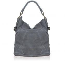 Liebeskind Tasche Fenja aus Wildleder in grau