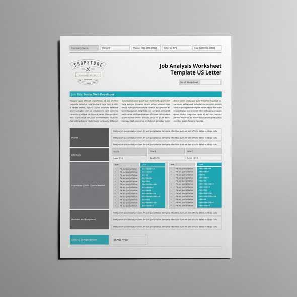 25 best ideas about Job analysis – Job Analysis Template