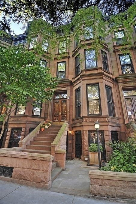 1000 ideas about brownstone interiors on pinterest for Nyc townhouse for sale