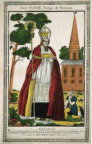 Saint Claude, évêque de Besançon © Musée de l'Image, Epinal