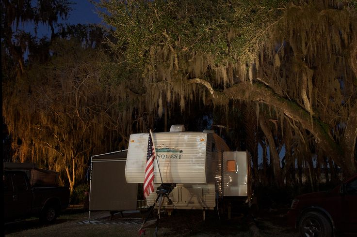 Frank Hallam Day, Camping