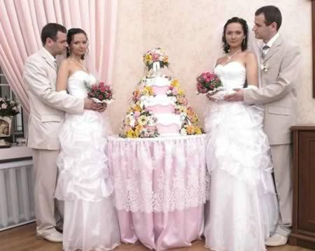 9 Bizarre Identical Twins Marriages