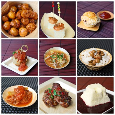 """""""Around the World on a Plate"""" - cool dinner party idea!!!"""