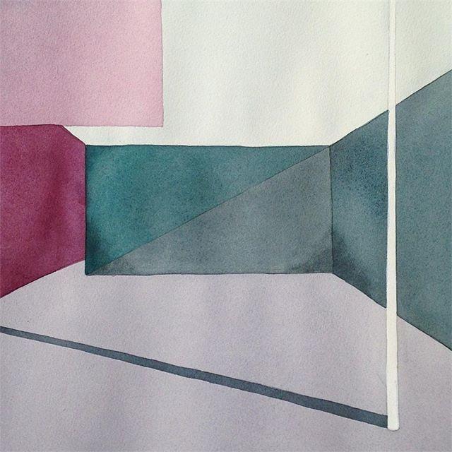 Julia Mota // artista visual // visual artist // watercolor on paper