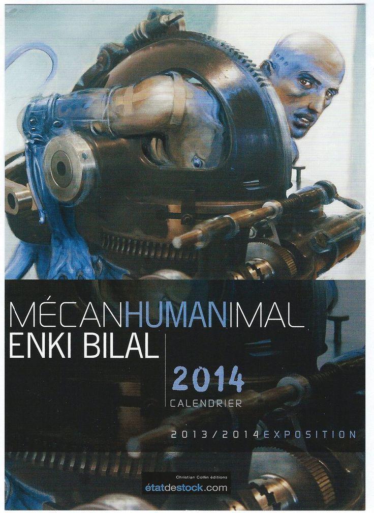 Enki Bilal Mecanhumanimal Musee Arts Et Metiers Paris Exhibition Calendar 2014