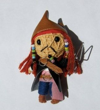Jack sparrow string doll