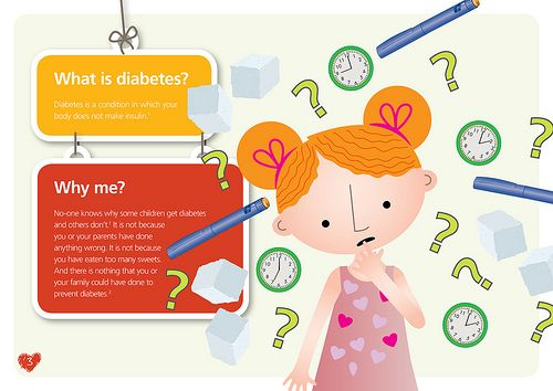 Page 4 - Finding out you have type 1 diabetes can be scary – you will probably have lots of different feelings and questions. Your doctor and nurse have lots of experience caring for children with diabetes. They will teach you and your parents how to manage your diabetes. We also hope this information will be able to answer some of the questions you may have about diabetes. #diabetes #type1 #guide #changingdiabetes #novonordisk #kids