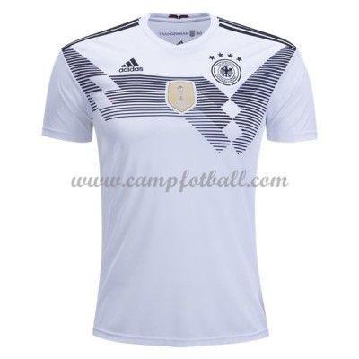 Billige Fotballdrakter Tyskland VM 2018 Hjemme Draktsett