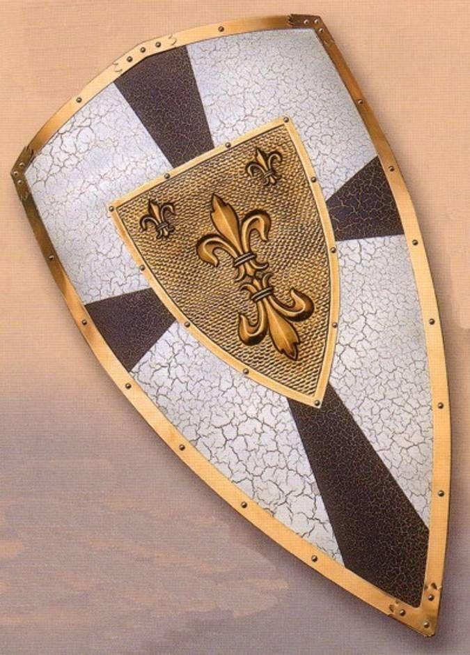 Escudo Carlomagno. Escudos medievales