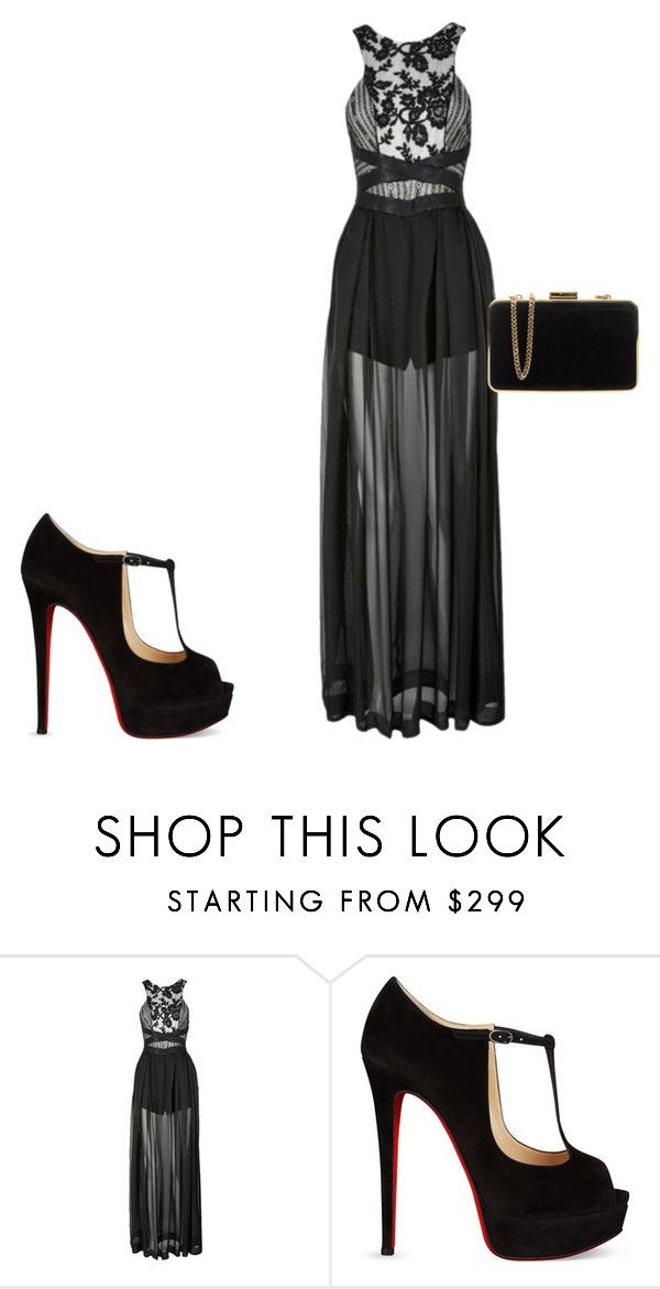"""Date Night"" by renee-9392 on Polyvore featuring Three Floor, Christian Louboutin and MICHAEL Michael Kors"