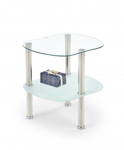 Arya - Konferenční stolek (sklo/kov) | OKAY.cz