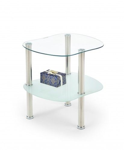 Arya - Konferenční stolek (sklo/kov)   OKAY.cz