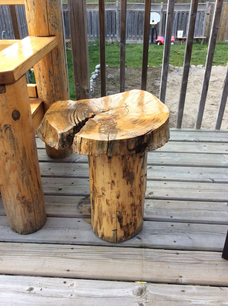 Maple Cookie End Table