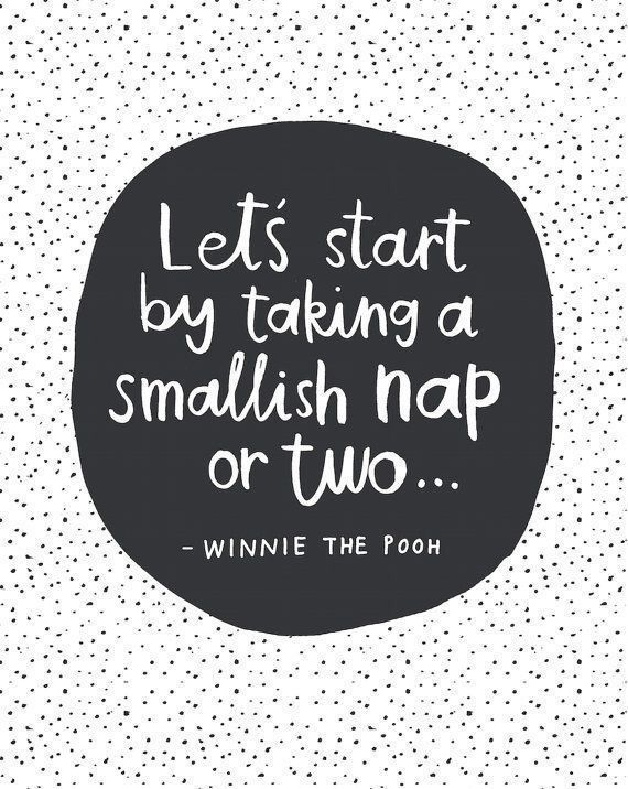 Saturday's were definitely made for napping!