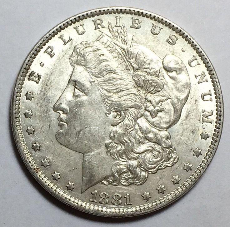 Beautiful 90% Silver 1881-O Morgan Silver Dollar. Take a LOOK!