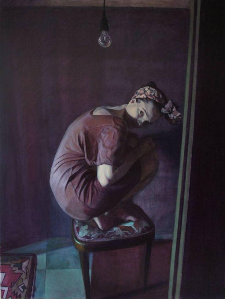 "Saatchi Art Artist Emanuel-Alexandru Gliga; Painting, ""Komma"" #art"