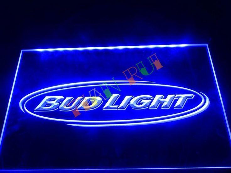 LA001- Bud Light Beer Bar Pub Club LED Neon Light Sign/Sign Light Neon Bar Beer #Unbranded #Neonlightsigns
