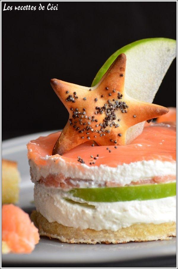 fraicheur saumon chèvre frais pomme granny