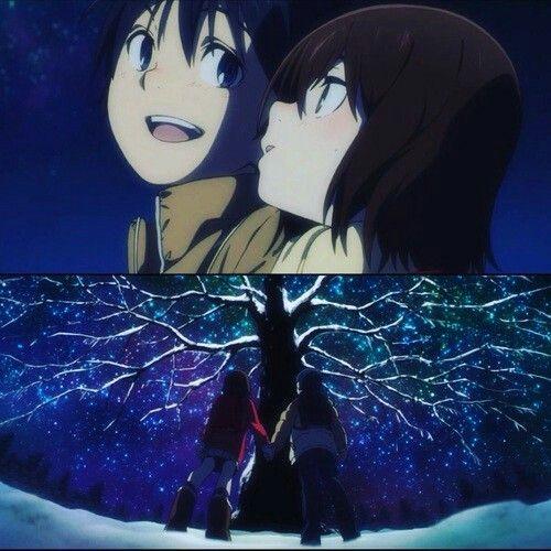 Boku Dake ga Inai Machi; Fujinuma Satoru und Hinazuki Kayo