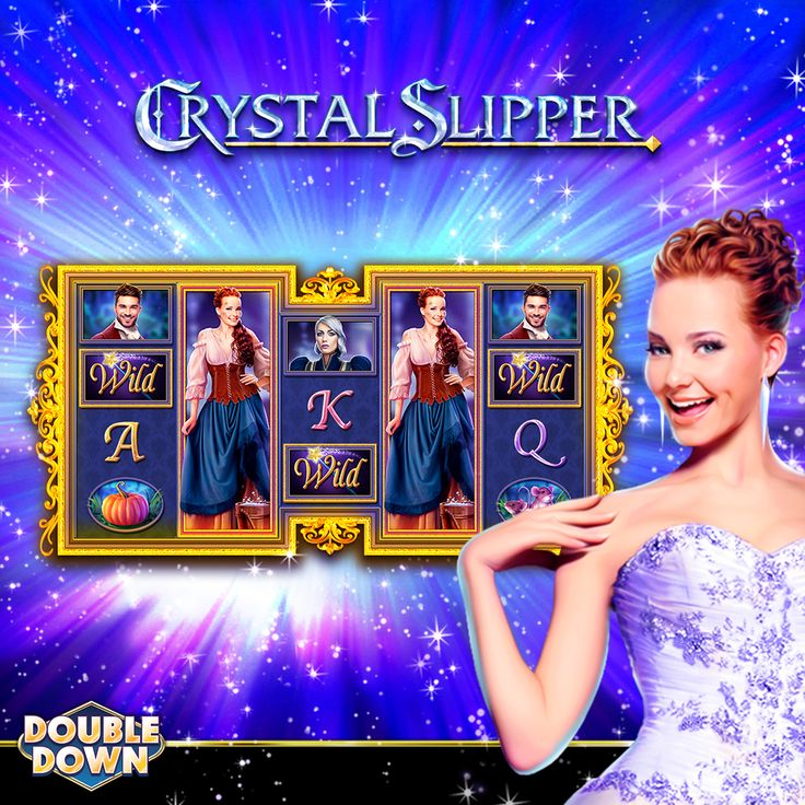 (EXPIRED) Crystal Slipper is a beautiful depiction of the Cinderella story, and its magical fun is now in DoubleDown Casino!  Try it today with 150,000 FREE Chips! Just tap the Pinned Link, or use code CRZXDW.