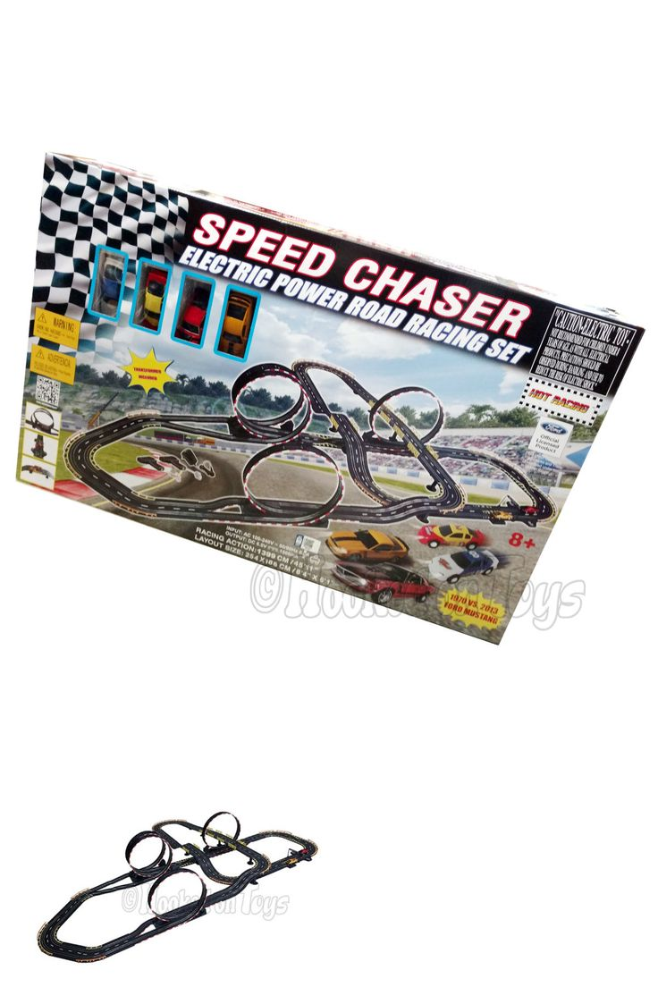 Other Slot Cars 776: Golden Bright - Speed Chaser Electric Road Racing Slot Car Set 45 Of Track 6650 -> BUY IT NOW ONLY: $99.99 on eBay!