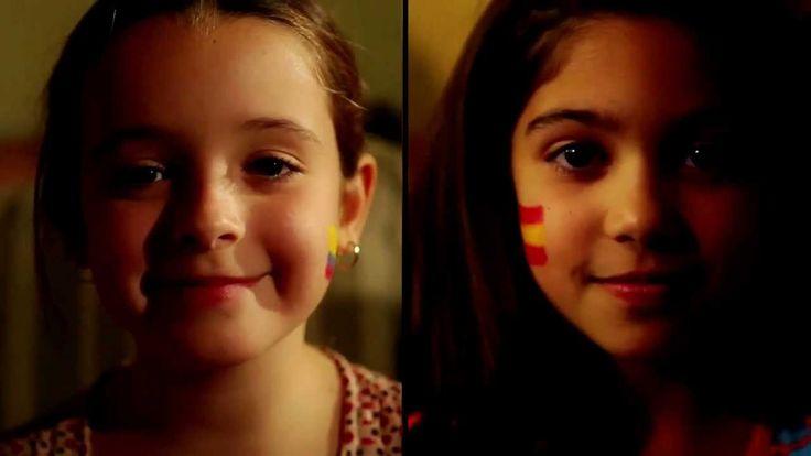 VIdas paralelas, las vidas de dos nenas. España y Colombia. Sus experiencias con el sistema educativa.