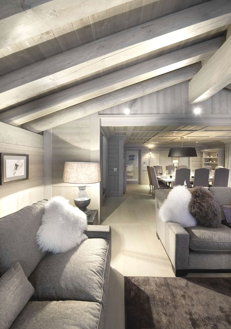 Colour paletteGrey Interiors, Pearls, Livingroom, Beams, Living Room, White, French Alps, Ski Chalets, Design