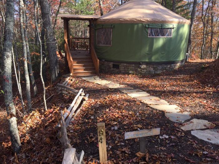 Sky Ridge Yurts Is The Best Glampground In North Carolina