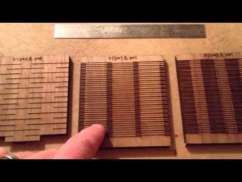 Living Hinge in Wood - YouTube