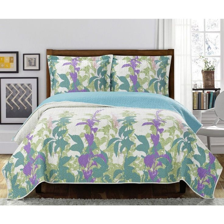 25+ Best Ideas About Floral Bedspread On Pinterest