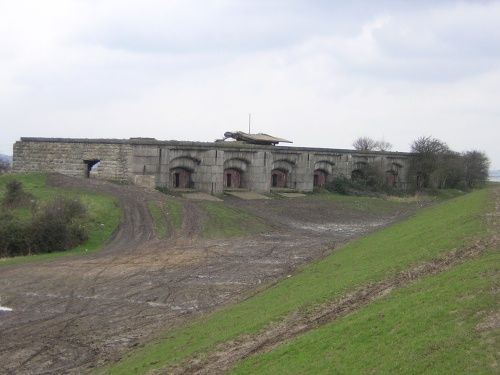 Shorne Mead Fort, Gravesend, Kent. As teenagers a favourite spot for motor biking and air rifles!