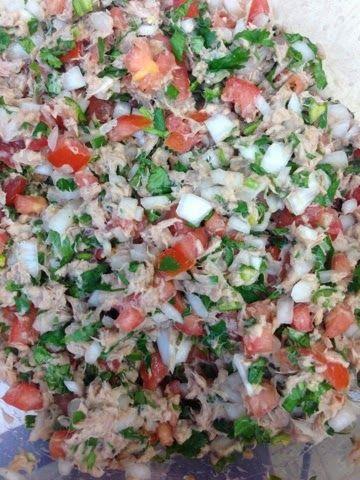 Robust: Spicy tuna salad