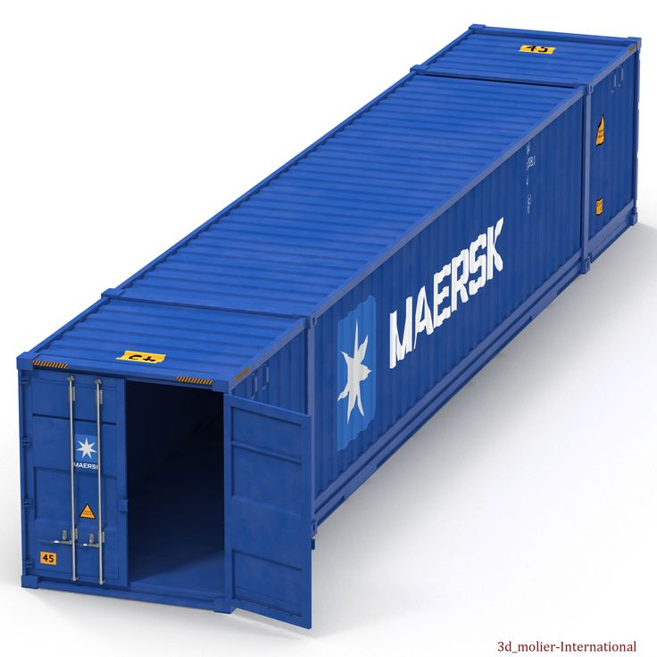 3d model of 53 ft Shipping ISO Container Blue  http://www.turbosquid.com/3d-models/max-53-ft-shipping-iso-container/936815?referral=3d_molier-International