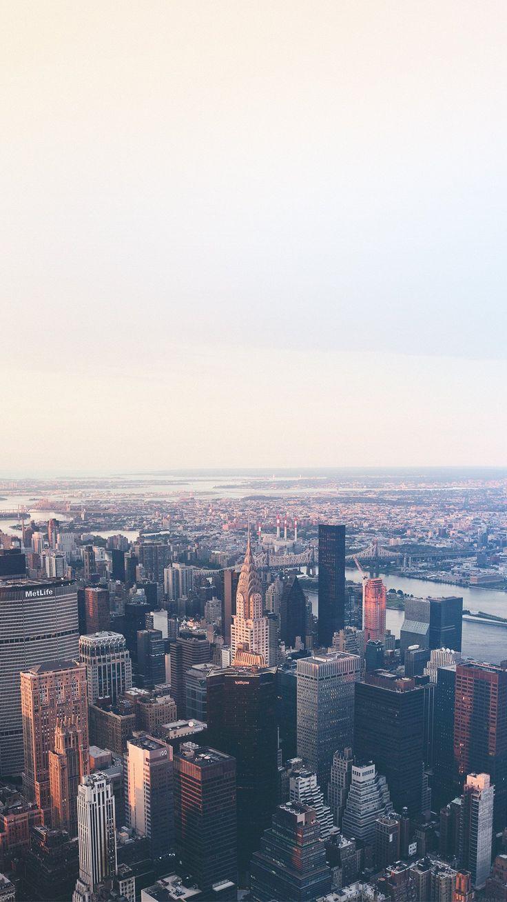 nice jonas-nillson-newyork-flare-blue-city-sky-iphone6-plus-wallpaper