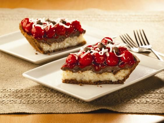 Yum! Check out the Cherry Chocolate Macaroon Pie from Lucky Leaf. I'm ...