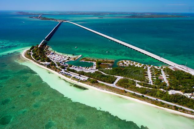 Bahia Honda - named as one of america's top beaches.  About 45 minutes north of key west
